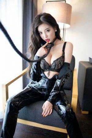 皮鞭与皮衣的狂野魅惑 高冷御姐杨晨晨诱人拉链等你征服